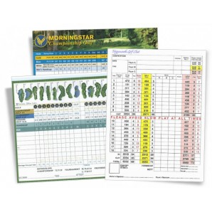 Golf Scorecards