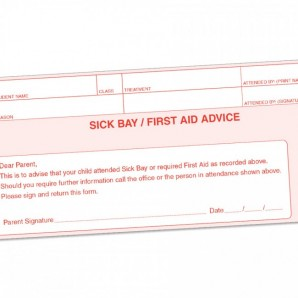 Sick Bay First Aid Books