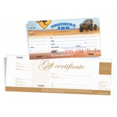 Gift Certificate Printing