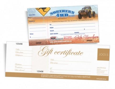 Gift Certificate Printing