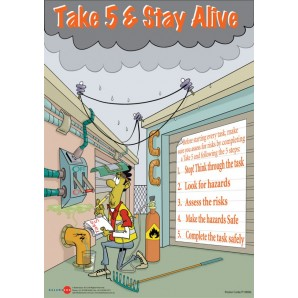 Take 5 & Stay Alive Posters