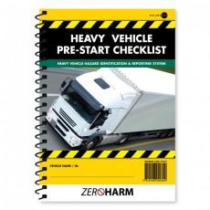 Heavy Vehicle Pre-Start Checklist Book