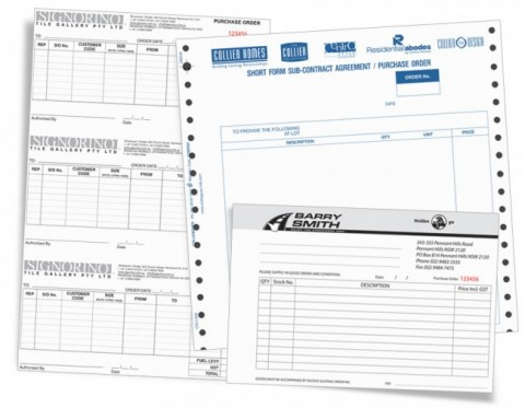 Purchase Order Printing