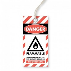 Danger - Flammable Tags