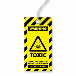 Warning - Toxic Tags